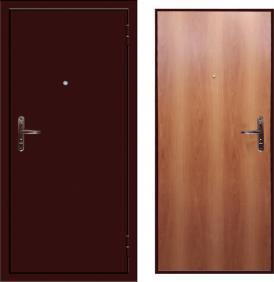 Дверь Zevs - металл - МДФ