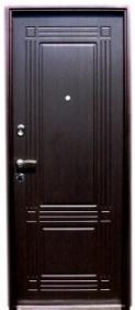 Металлическая дверь Форт с МДФ